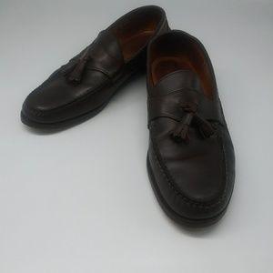 Polo Ralph Lauren Brown Leather Round Toe Tassel
